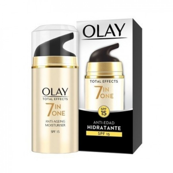 Olay total effects crema de dia sf15  50ml.