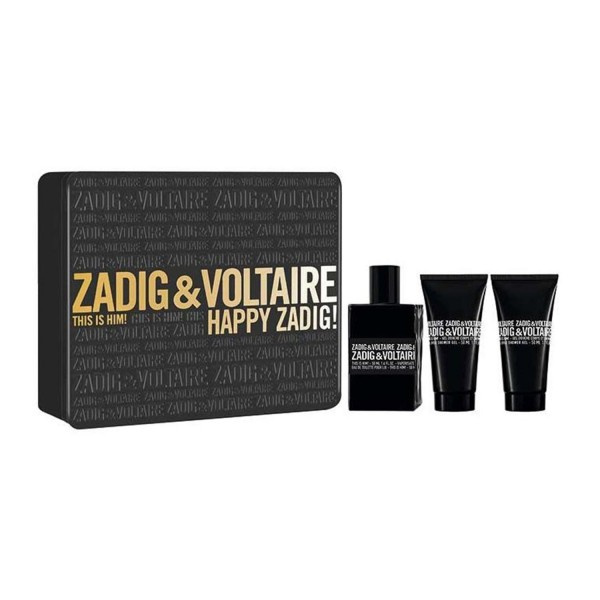 Zadig&voltaire this is him eau de toilette 50ml vaporizador + gel de baño 50ml + gel de baño 50ml